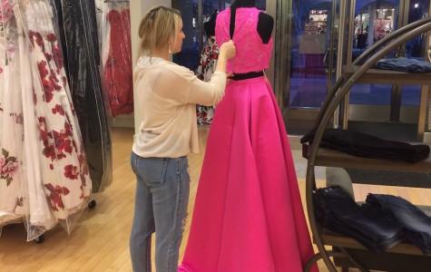 Prom Dress Hunt Begins