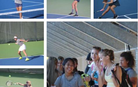 Totino-Grace Girls Tennis Kick Off 2016 Season