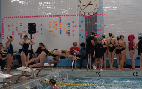 Senior Night for Girls Swimming