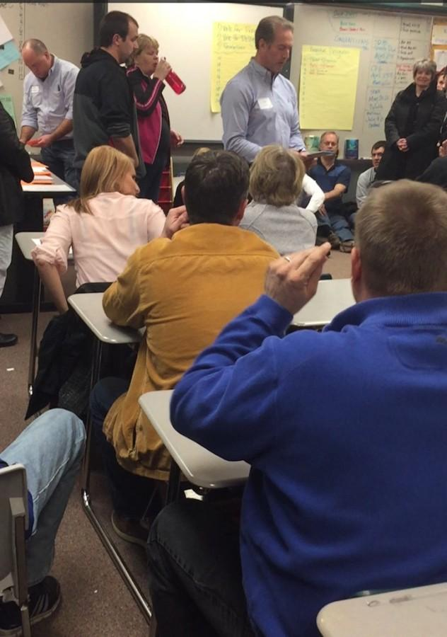 Minnesota+residents+gather+at+Andover+Middle+School+for+a+Republican+Caucus.++