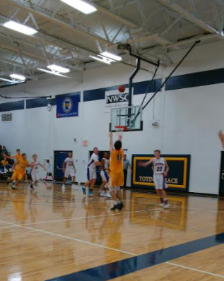 Junior Will Schmidt jacks up a three