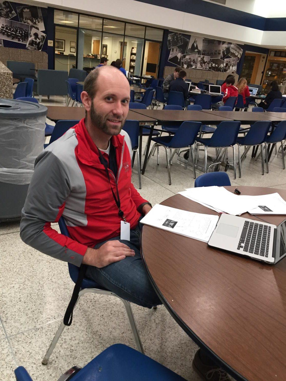 Pictured: Mr. Dahlman, head of the new homeroom program.