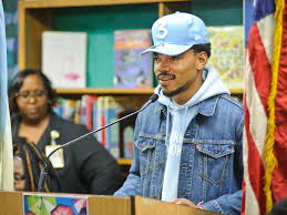 Chance speaking at a local school