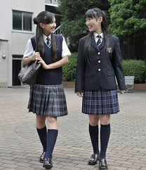 Typical Japanese uniforms