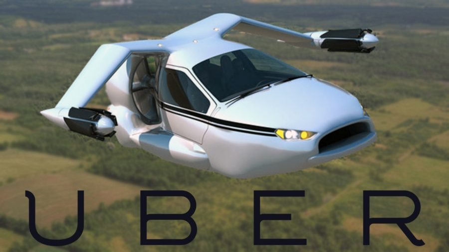 Uber+flying+car