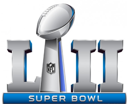 Photo Credits: https://www.printyourbrackets.com/nfl-logos/super-bowl-52-logo.png