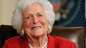 Photo Credit: https://www.cnn.com/2018/04/17/politics/barbara-bush-dies/index.html