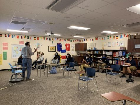 TG returns to the classroom